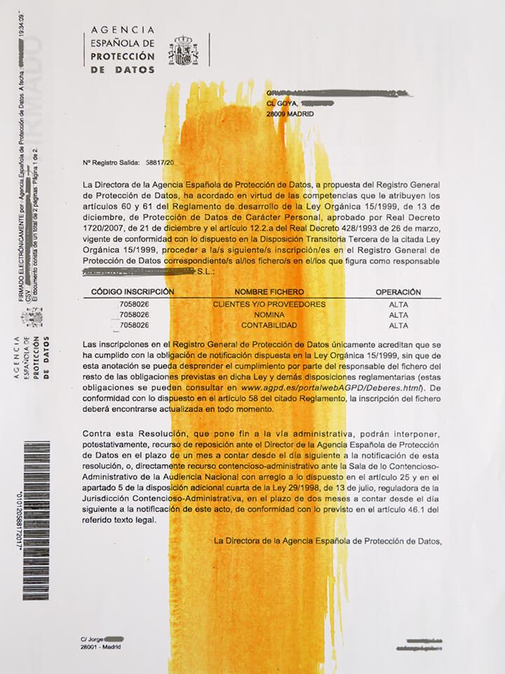 asesoría sobre protección de datos, compliance y blanqueo de capitales Foro Norte
